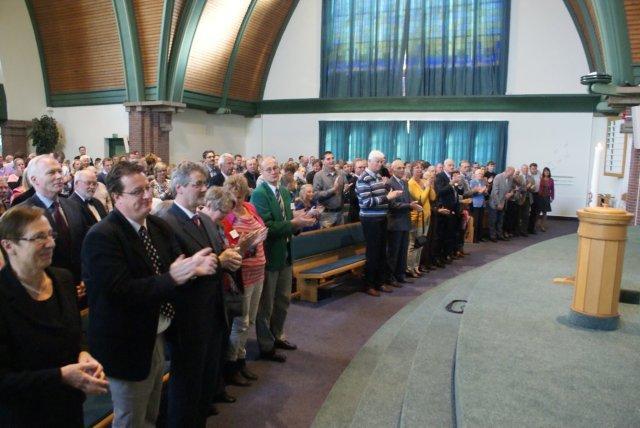 Afscheid van Barendrecht (4) – eredienst Bethelkerk 30.9.2012