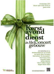 Poster Kerstavonddienst 2013